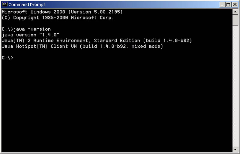 Determining your current java runtime plug.